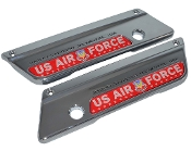 93-13 Saddlebag Latch Reflector Decals - USAF Tactical Red