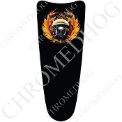 03-07 Ultra Classic CB Dash Insert Decal - Fire Fighter - Black