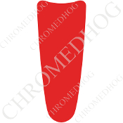 03-07 Ultra Classic CB Dash Insert Decal - Solid - Red