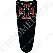 03-07 Ultra Classic CB Dash Insert Decal - Iron Cross - RFBB