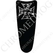 03-07 Ultra Classic CB Dash Insert Decal - Iron Cross - SPB
