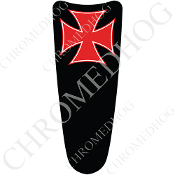 03-07 Ultra Classic CB Dash Insert Decal - Iron Cross - RB