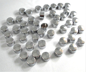 Chrome Bolt Cover Cap Kit - 2000-2006 FXST & FLST - Set of 48
