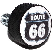 Harley Twin Cam Air Cleaner Bolt - Black Billet Route 66
