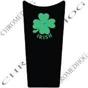 89-07 Road & Electra Glide Dash Insert Decal - Clover Irish B