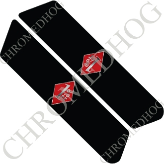 96-07 Police Saddlebag Decals - 1%er - RDBS