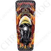 08-15 Ultra & Electra Glide Dash Insert - Fire Fighter DP F