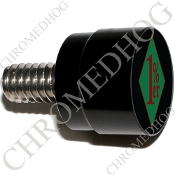 Twin Cam Air Cleaner Bolt - S SM Black Billet 1%er - GDBR
