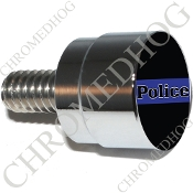 Twin Cam Air Cleaner Bolt - S SM Chrome Billet Blue Line - P