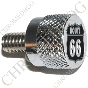 Twin Cam Air Cleaner Bolt - S KN Chrome Billet Route 66