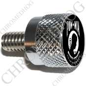 Twin Cam Air Cleaner Bolt - S KN Chrome Billet POW*MIA