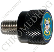 Twin Cam Air Cleaner Bolt - S KN Black Billet Coast Guard