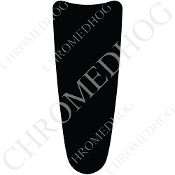 03-07 Ultra Classic CB Dash Insert Decal - Solid Black