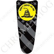 03-07 Ultra Classic CB Dash Insert Decal - Don't Tread G Flag