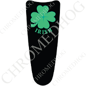 03-07 Ultra Classic CB Dash Insert Decal - Clover Irish Black