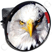Tow Hitch Cover - Eagle - Bald