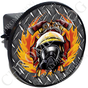 Tow Hitch Cover - Fire Fighter - DP