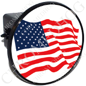 Tow Hitch Cover - Flag - American