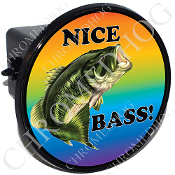 Tow Hitch Cover - Bass - Nice Bass!