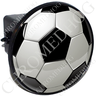 Tow Hitch Cover - Soccer Ball - Shaded