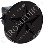 Tow Hitch Cover - Star - Black/ Gray