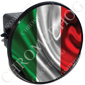 Tow Hitch Cover - Flag - Italian