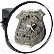 Tow Hitch Cover - Special Police Badge - W2