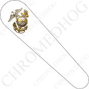 08-Up FLHX Street Glide Dash Insert Decal - USMC Marines EGA W