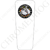 08-15 Ultra & Electra Glide Dash Insert - USMC Devil Dog White