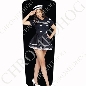 08-15 Ultra & Electra Glide Dash Insert - Pin Up Navy Black