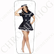 08-15 Ultra & Electra Glide Dash Insert - Pin Up Navy White