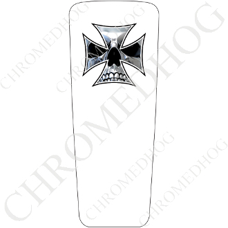 08-15 Ultra & Electra Glide Dash Insert - Iron Cross CSW